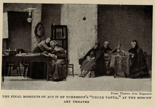 Vanya Dayı, Dördüncü Perdenin Sonları  Moskova Sanat Tiyatrosu.jpg