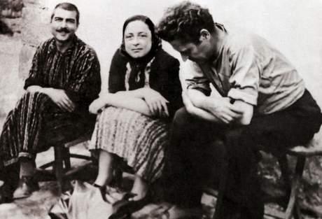 Nazım Hikmet, Piraye ve Kemal Tahir, Çankırı Cezaevi, 1940