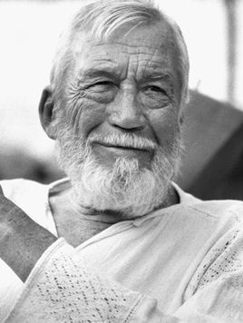 John Huston in Mexico 1982 © 1982 Tom Kelley