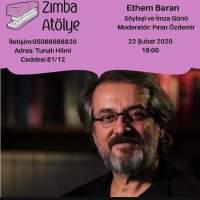 Zımba Atölye'de Ethem Baran Söyleşisi