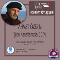 Ahmet Özer ALTIYEDİ Dergisi Edebiyat Söyleşilerinin Konuğu Olacak