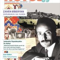 """Notos'un yeni sayısında dosya konusu: """"Doğumunun 100. yılında Zaven Biberyan"""""""